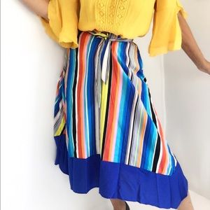 SOLD-Summer Rainbow Skirt Brand new With Tags